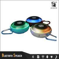 T-2303 BT2.1+EDR Mini Portable LED Light Handsfree Wireless Bluetooth Speaker with Micphone