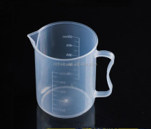 500ml Transparent Graduated Plastic Baking Cups/Measuring Cups With Handle