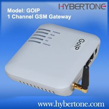 1 channel VOIP GSM gateway GOIP