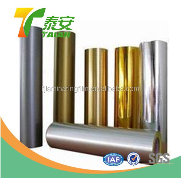 PET Metallized Film for Food Packing