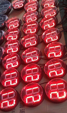 620nm - 630nm 5mm red round led for traffic light with 30 degree viewing angle