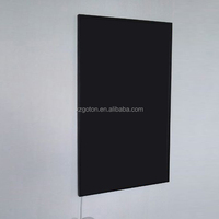 slim body wall mounted infrared black strip heater