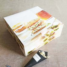 Customized paper box packaging for cakes