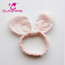 Sunshine Hot Sale Korean Style Pink Rabbit Ears Cute Headband For Kids
