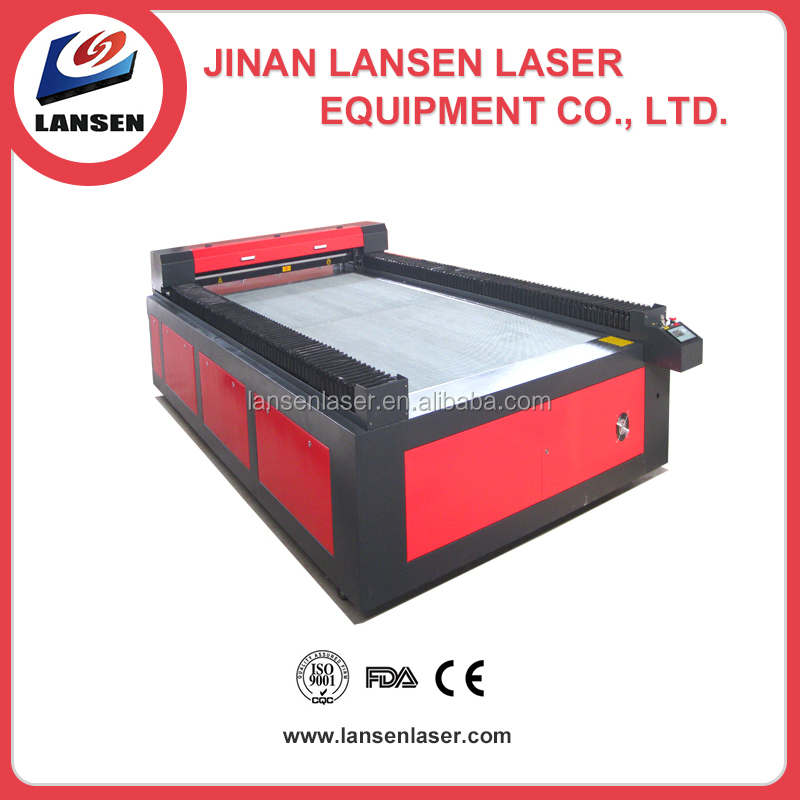 Factory directly supplying High quality Fast Speed 1500*3000mm Large size Cloth Laser Cutting machines with agent price