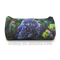 Animal Printing Pencil Case Zipper Pouch Bag Pen Box stationery