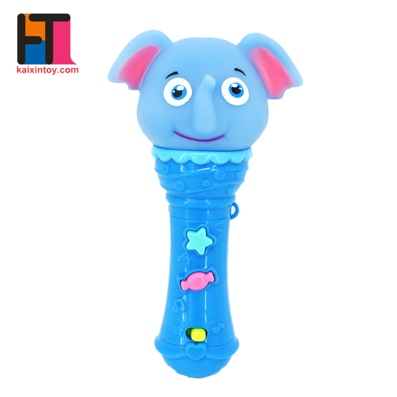 hot sale plastic handheld microphone musical baby learning toys with mp3 function