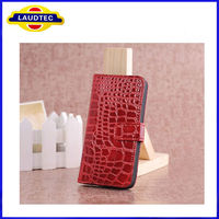 Mixed-color Croco Pattern Hot Selling New Fashion Wallet Leather Mobile Cell Phone Case for iPhone 5