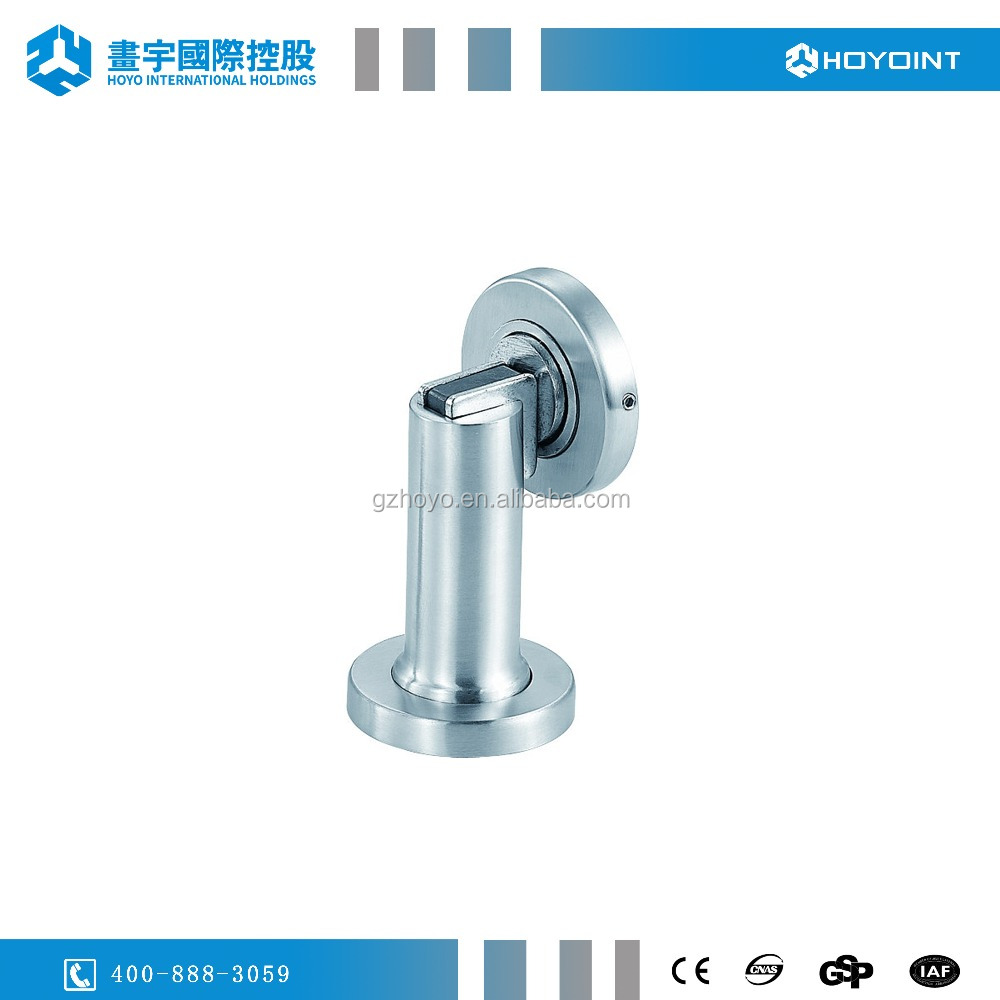 China manufacturer high quality stainless steel 304 magnetic door stop salt spray test door stopper for wooden&steel doors