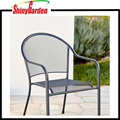 Commercial Steel Mesh Outdoor Bistro Cafe Patio Chair