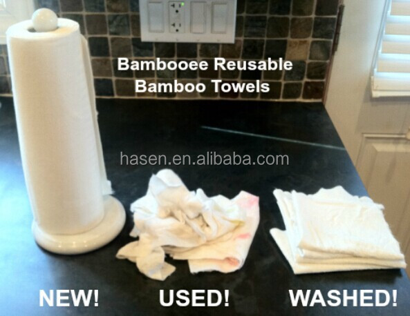 100% Bamboo Fiber Material and everyone Age Group bamboo clean towel