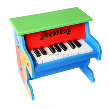 33x25x29cm wooden hot toys 18 keys musical keyboard the Musical Instruments about 20 USD price piano wholesale toy from china
