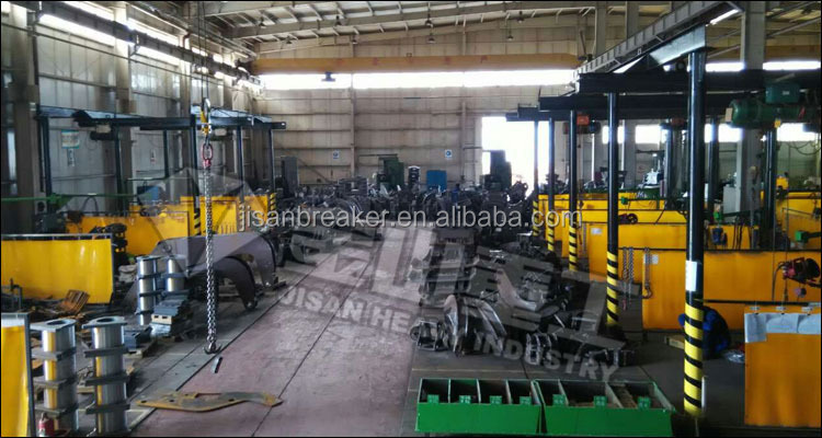 Cheap price DH420 DH500 PC450 excavator used Hydraulic hammer with CE