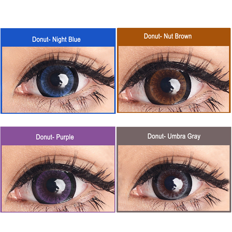 Meetone Donut Wholesale Magic Color Contact Lens Doll Eye Contacts