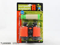 kids educational plastic mini telescope toys for customer OEM items