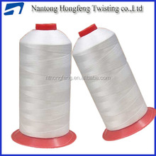 Colored bonded thread for outdoor
