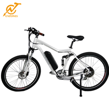 "27.5"" 500W 48V Electric Mountain Bicycle EBike Speed Lithium Battery Black/White"