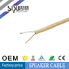 SIPU RVH speaker cable,OFC Conductor.RVB Speaker Cable Insulation (Color:Transparent)