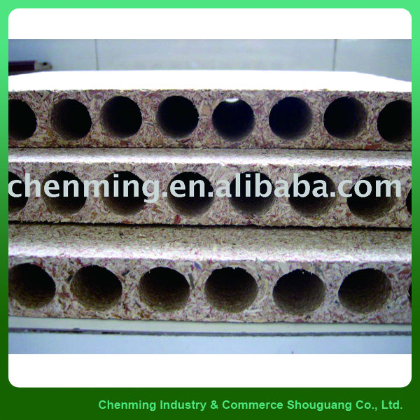 Hollow particle board/chipboard