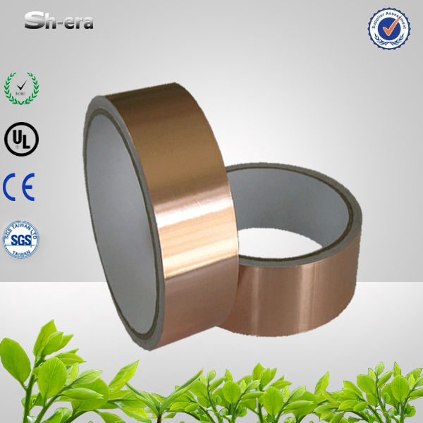 High conductive electrolytic thin copper foil tape