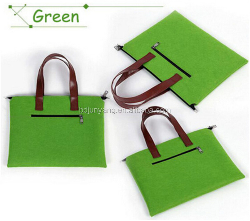 diy custom felt tote bags different size fashion bag felt cosmetic bag