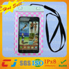 2015 pvc rubber waterproof bags for sumsung galaxy note
