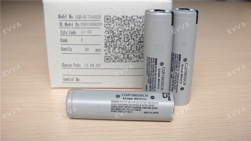 For Panasonic CGR18650CH Original Rechargeable 18650 battery for Electronic Cigarette