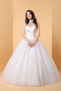 A-line Wedding Dress Simply Sublime Floor-length Halter Lace Tulle with Lace bridal gown P054