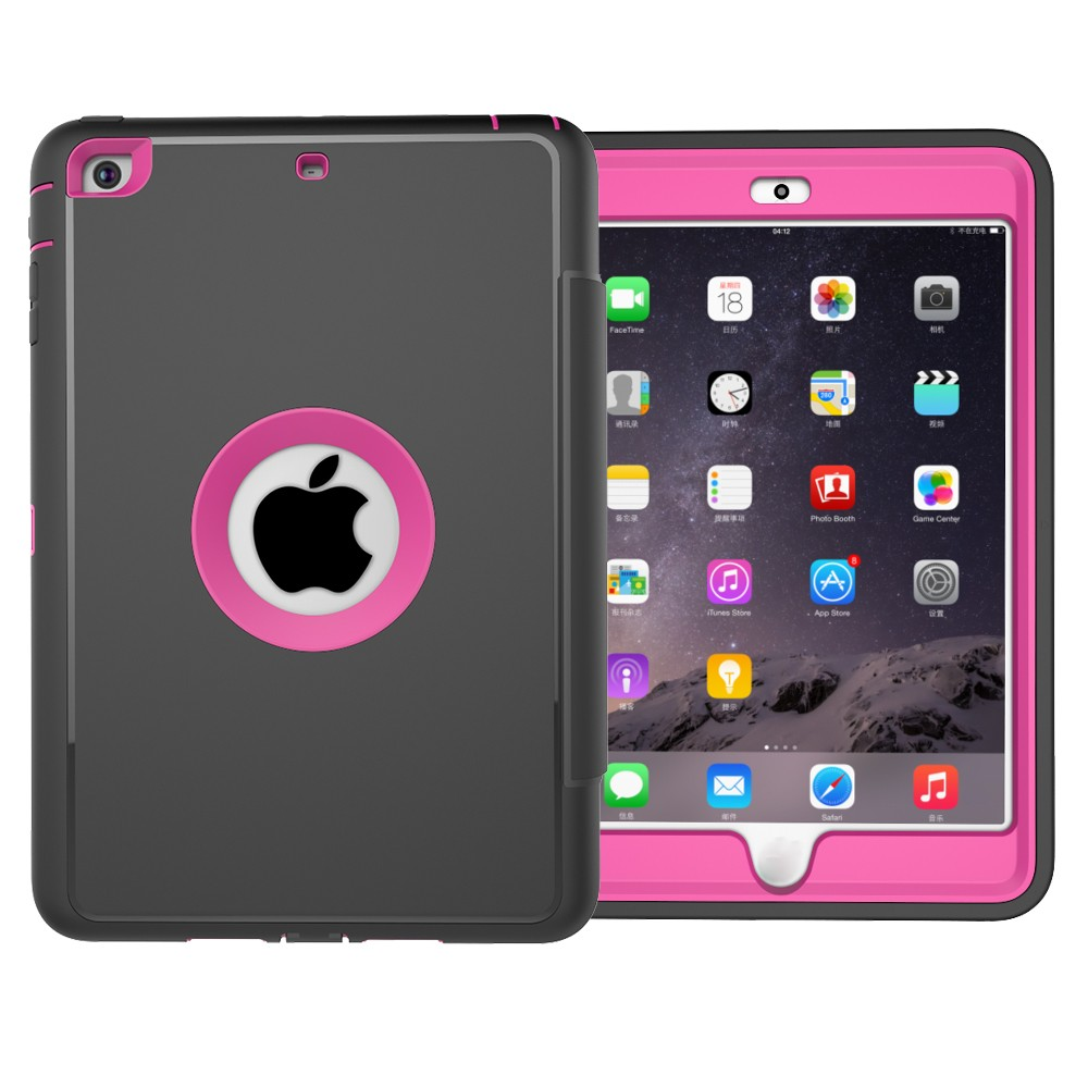 Kid proof Smart Cover PU Leather Case For iPad Mini 1 2 3 Cover