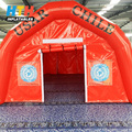 Hot Sale inflatable beach construction dome tent for sale