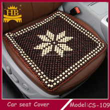 wooden bead car chair message seat cushion cover