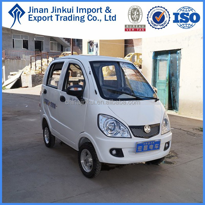 4 doors smart electric car on sale by HONGCHANG
