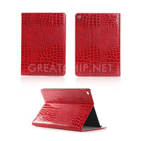 New Crocodile Grain Case for iPad Pro Leather Case Flip Cover Pouch for Apple iPad Pro Protective Cover Case