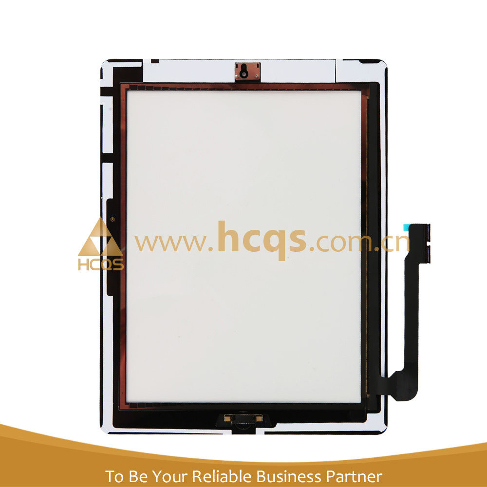 100% original replacement digitizer for Ipad touch screen for Ipad3/4