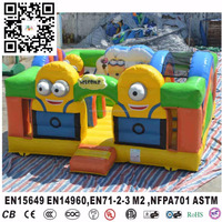 cheap inflatable bouncer for sale ,minions Bouncer house,minions jumping castle