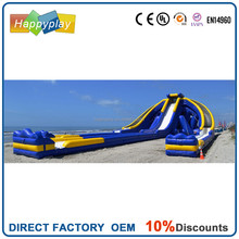 Giant hippo inflatable water slide adult inflatable water slide