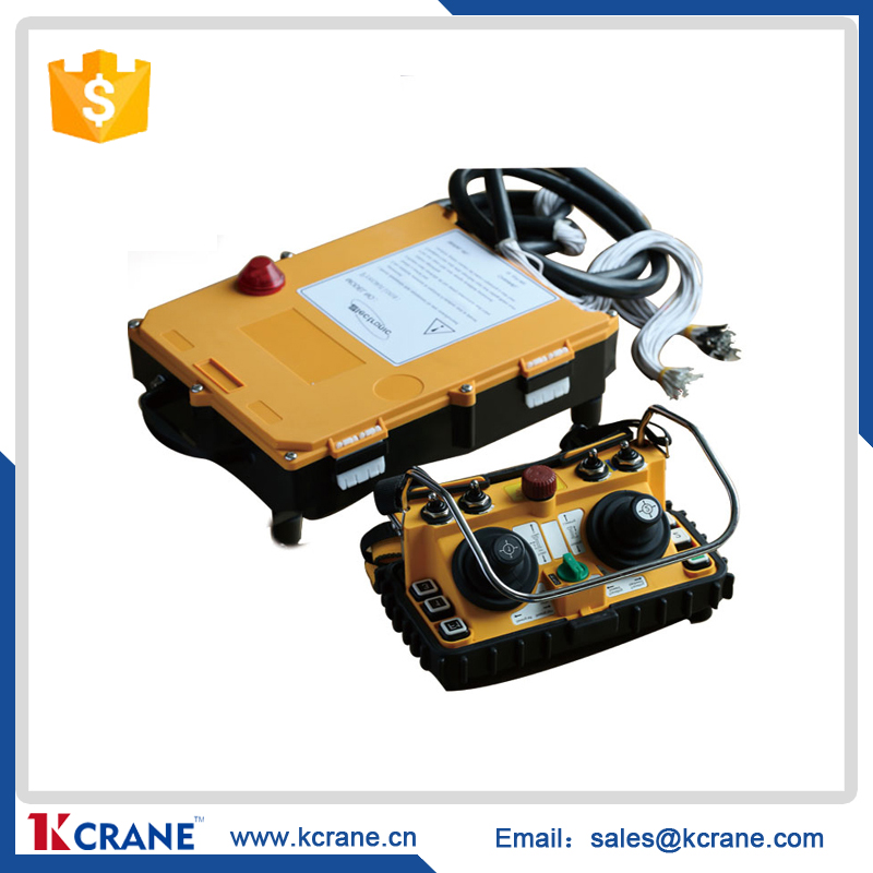 dual joystick crane radio remote control wireless for crane