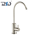 China New Wholesale Single Handle Lead-free Stainless Steel Drinking Water Faucet For Kitchen Sink