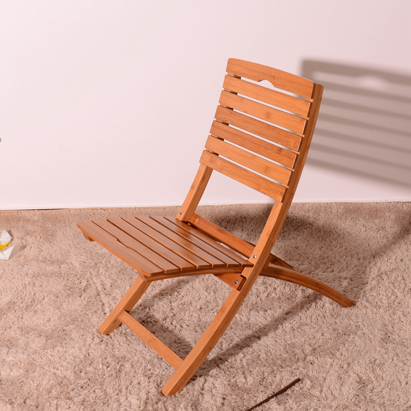 Ceragem price space saving home furniture bamboo folding chair bamboo reclining chair