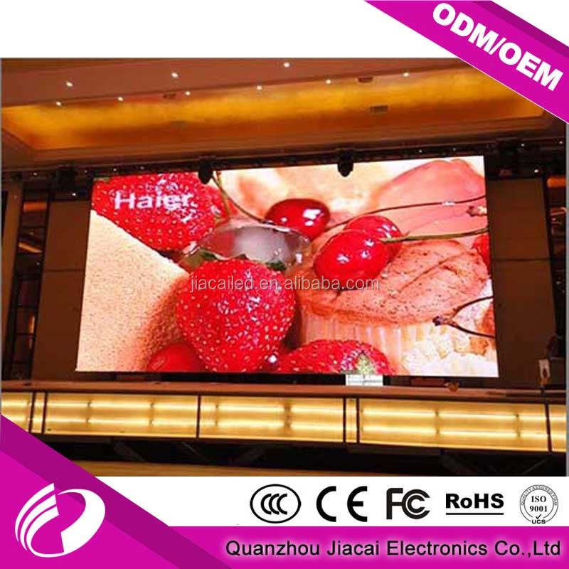 Full color advertising display led screen indoor p4