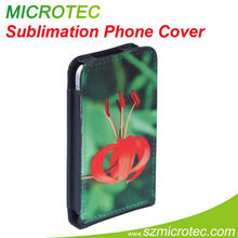 Sublimation table talk leather case for apple iphone 4