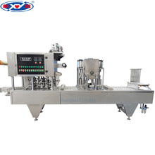 Yoghurt Cup Semi-liquild Filling Sealing Machine/automatic sealing machine