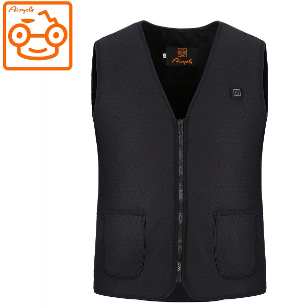 Mens Electric Heated Vests Battery Powered Clothing For Motorcycle Ski UK