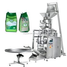 Film Roll Pouch Rice Bag Packing Machine With 4 Heads Turntable Volume