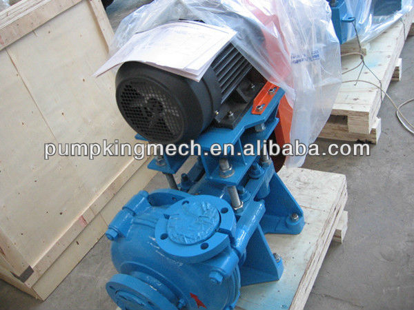 Horizontal sludge centrifugal 3/2C solid slurry pump <strong>price</strong>