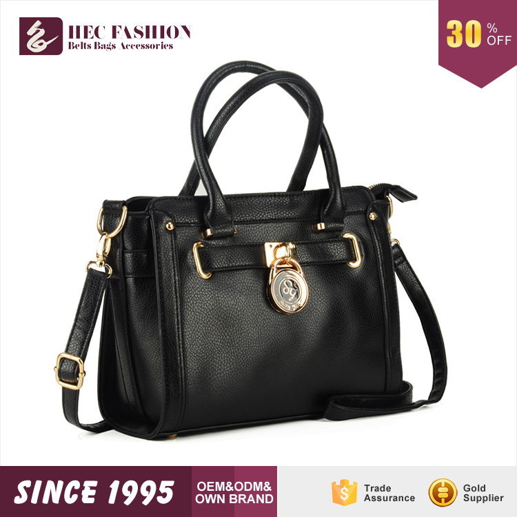 HEC Guangzhou Cheap Price Leather Replica Handbag For Woman