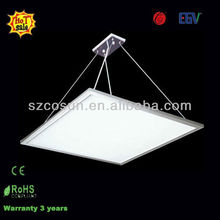 600x600 suspend hanging ultra slim led panel light, led light fixture