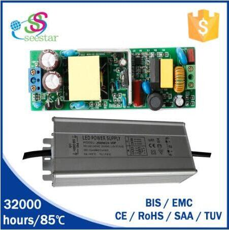 CE EMC waterproof IP 67 switching power supply 40w 50w 60w led street light driver