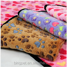 Soft Cozy Dog Puppy Blanket Coral Fleece Pet Mats for Dogs and Cats