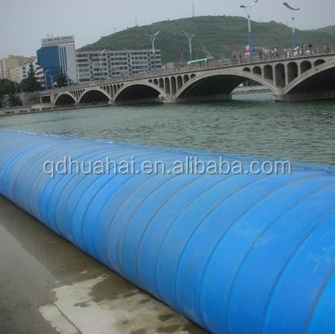 hydropower project rubber dam for water control